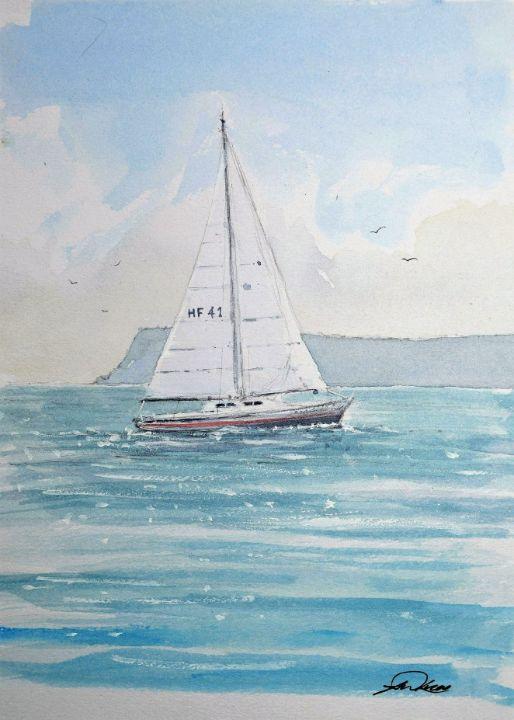 Across the bay - Andrew Lucas