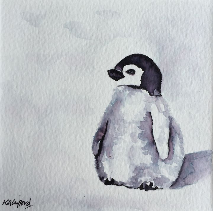 Baby Penguin Kathryn Clifford Paintings Amp Prints