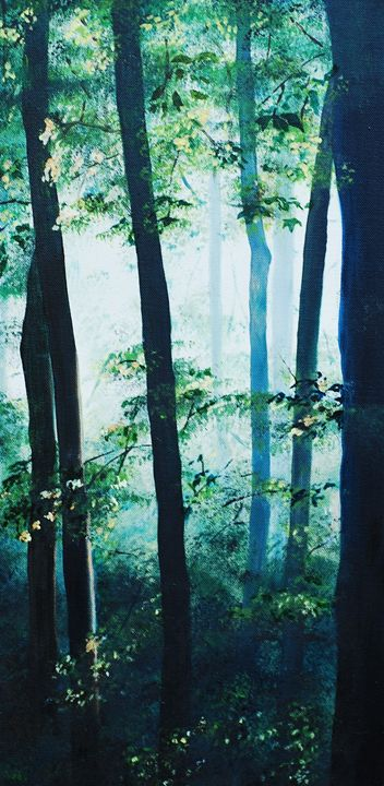 Light through the Trees - Kathryn Clifford