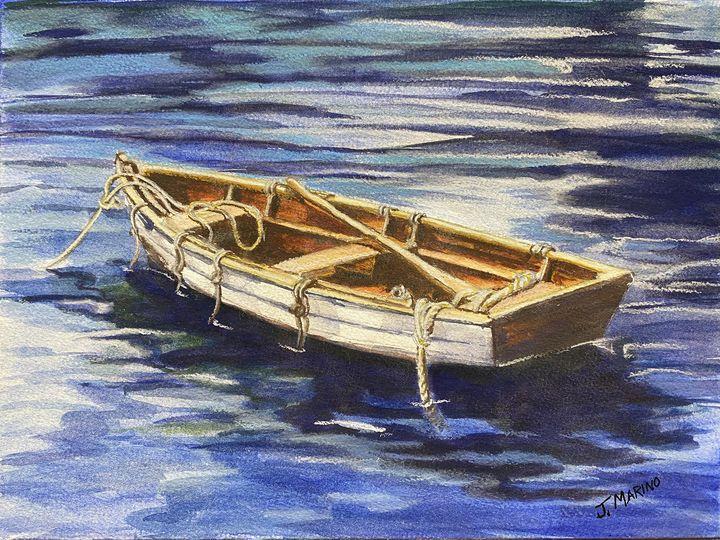 The boat stands alone - Jill Marino