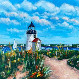 Brant Point Lighthouse, Nantucket - Jill Marino