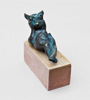 surprised cat - Artsculpt