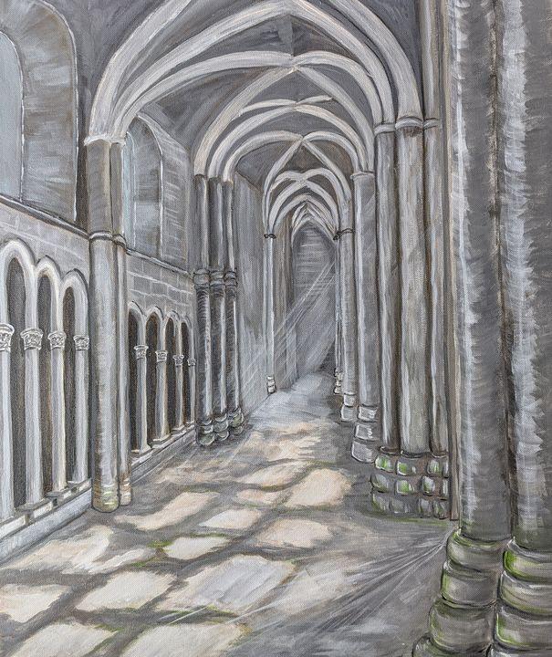 Holyrood Abbey - Blakely Art