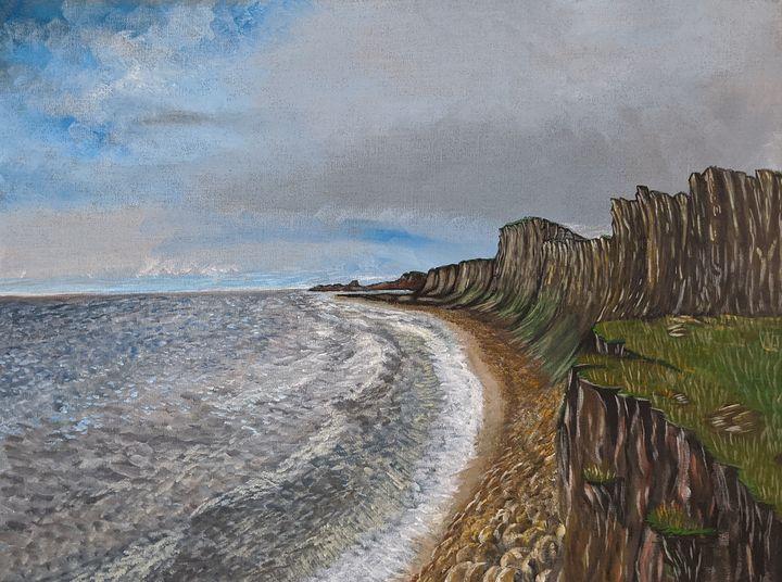 Seaside cliffs - Blakely Art