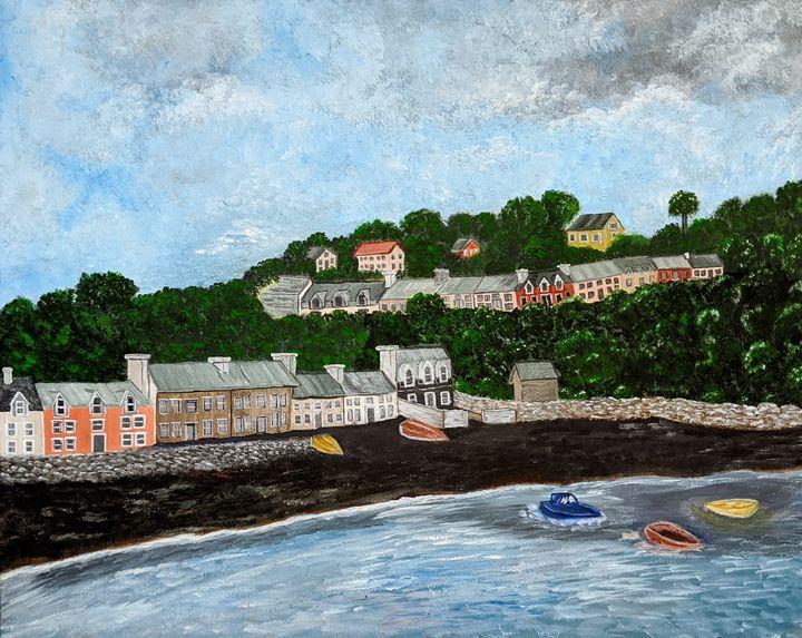 Portree Harbor, Isle of Skye - Blakely Art