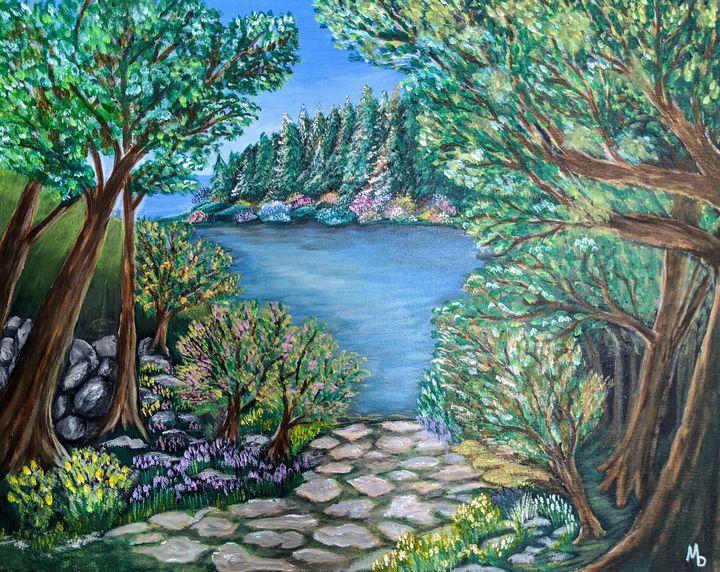 Peaceful Path - Blakely Art