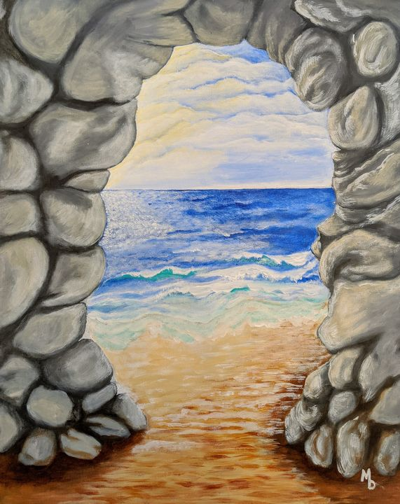 Portal to the Sea - Blakely Art