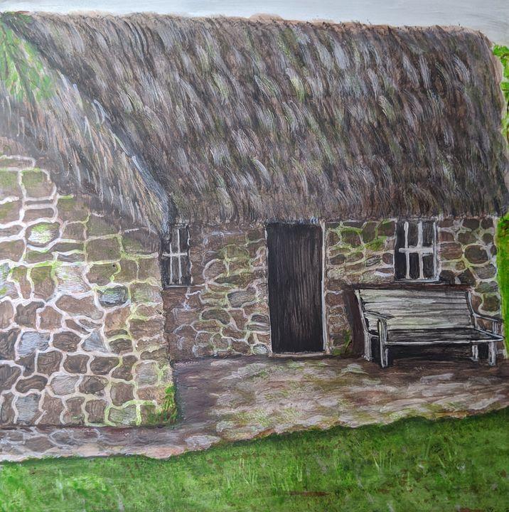 Stone Cottage - Blakely Art