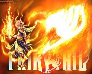 Natsu Dragneel, Fairy Tail Wallpaper