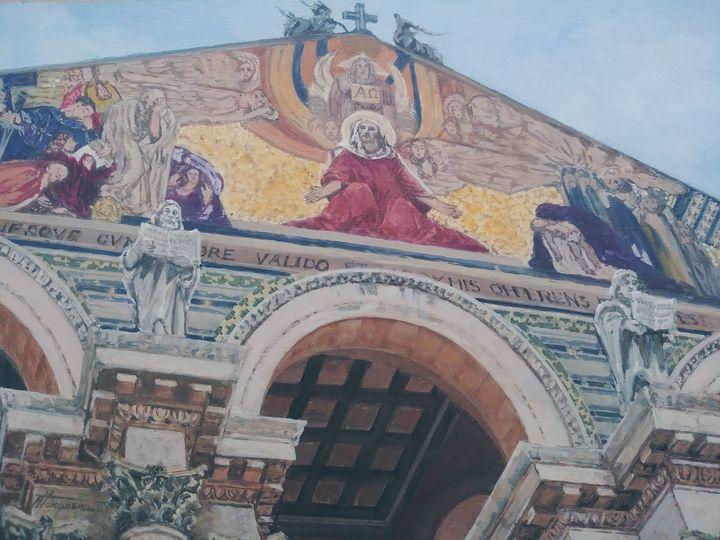 The Church of All Nations Jerusalem - Nadiya Tokarska Fine Art