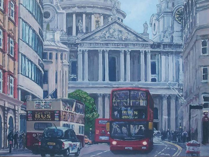 St Paul's Cathedral London - Nadiya Tokarska Fine Art