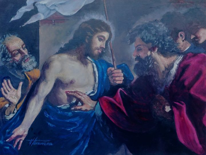 The Incredulity Of Saint Thomas - Nadiya Tokarska Fine Art