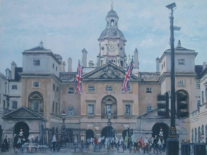 Whitehall The Horse Guards Palace - Nadiya Tokarska Fine Art