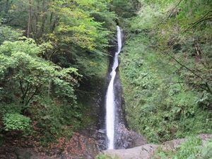 Lydford Gorge waterfall