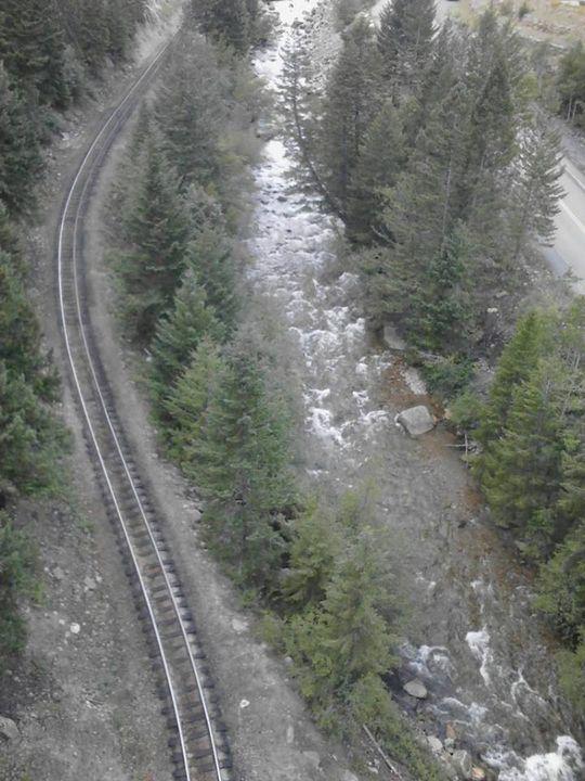Rail River Road - Sarah Hudson
