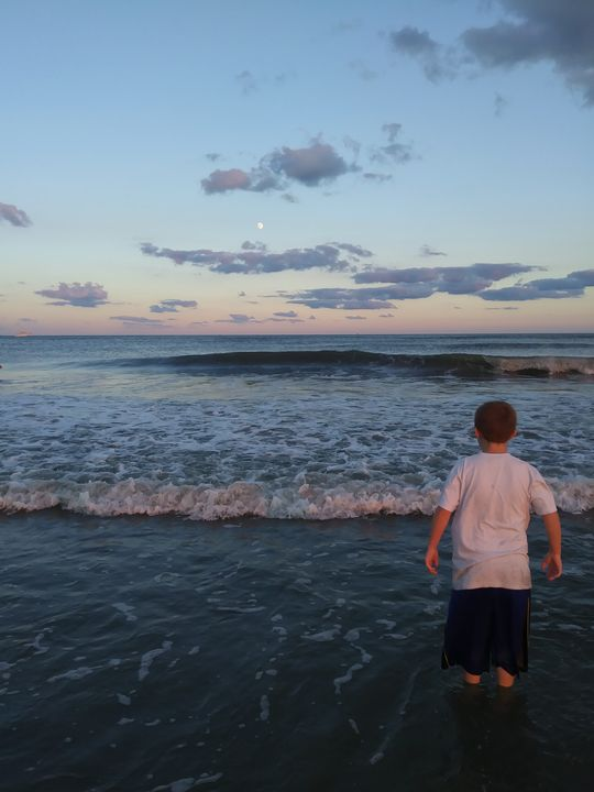 First Beach Wonder - Sarah Hudson