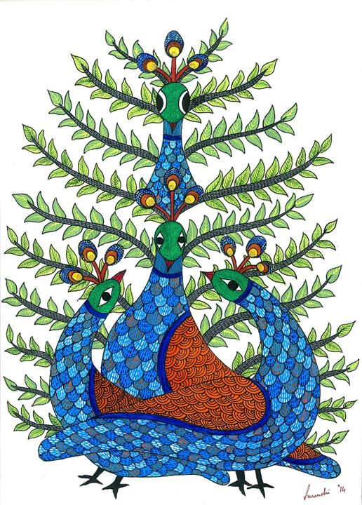 Peacocks - COLOURSETAL
