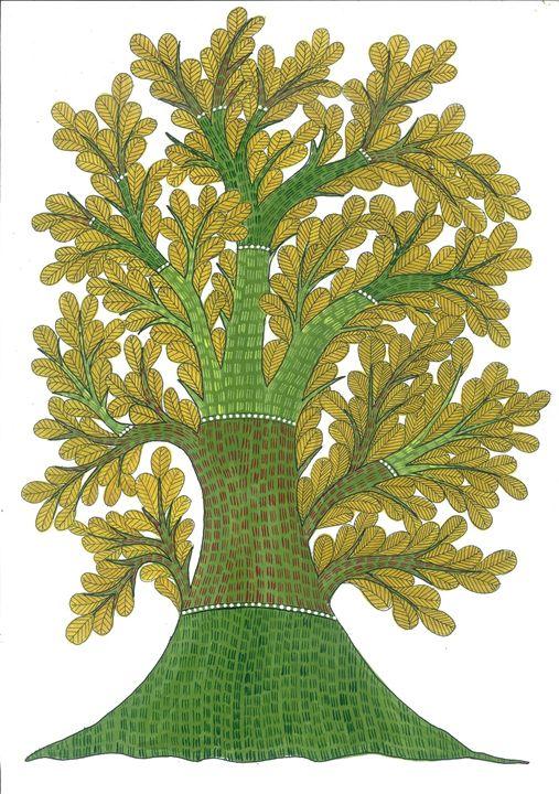 Yellow Tree - COLOURSETAL