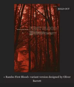 Rambo First Blood By Oliver Barrett