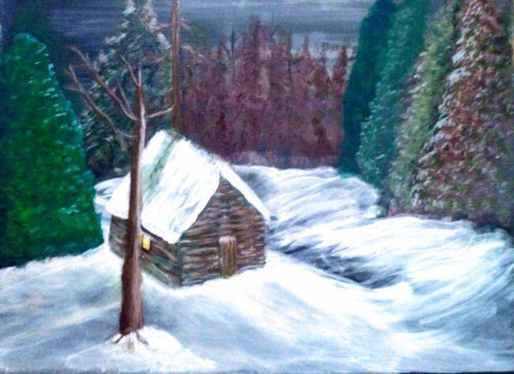 Winter Night - Netta's Art