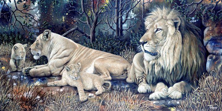 Lion family - Trish Perrevos