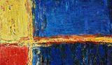 original oil on canvas, 124 x 72 cm