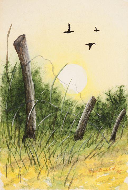 Fence Post - Remembering Madelene