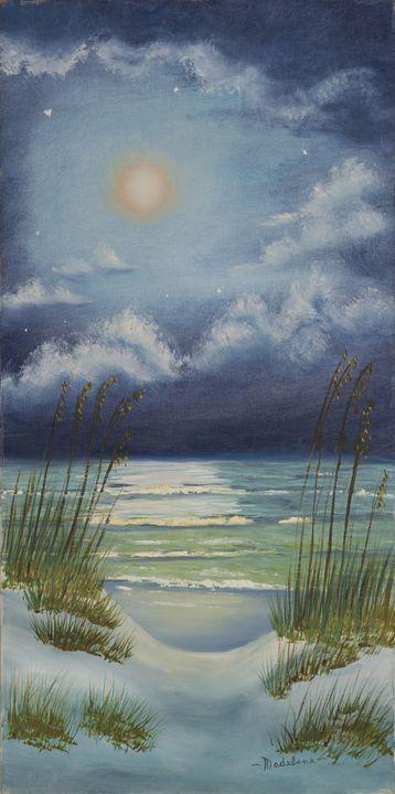 Moonlight on the Beach - Remembering Madelene
