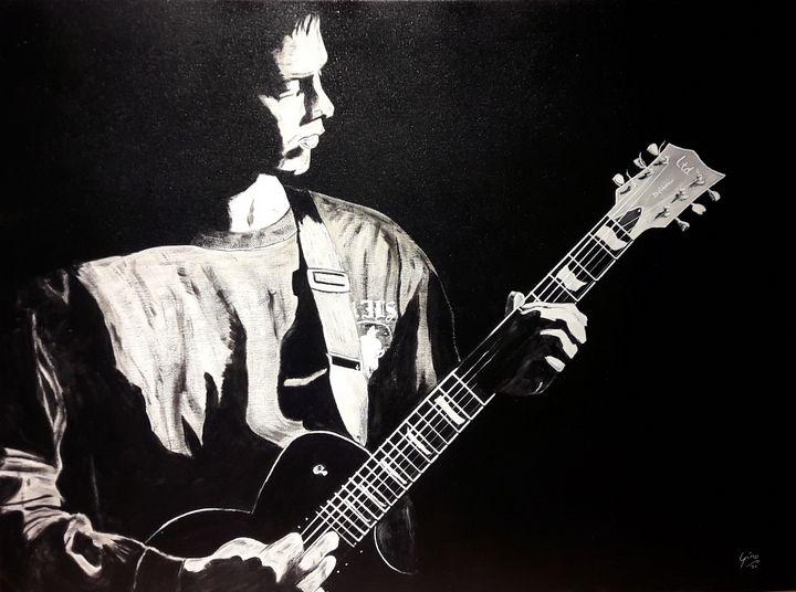 Guitar player - Gino Devolder Art