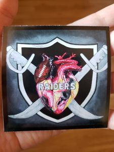 Raiders Vinyl sticker