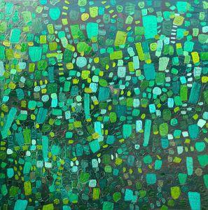 Naturally abstract green
