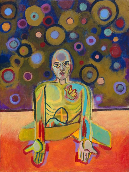 Heart Buddha - Fine Art by Kevin Earley