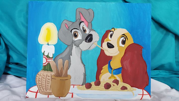Lady and The Tramp - The Kids Room