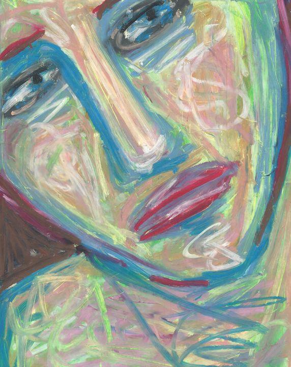 Colorful Woman - Kami Long Chowdhury