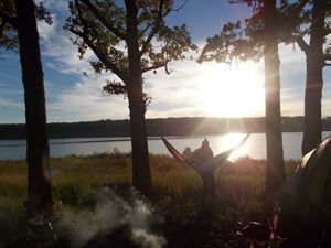 Morning's while camping