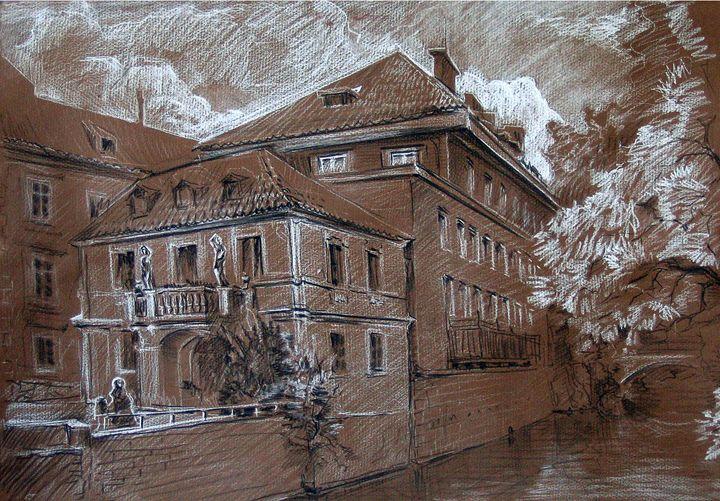 Cloudy day. Prague. 2006 - Constantine Derbin