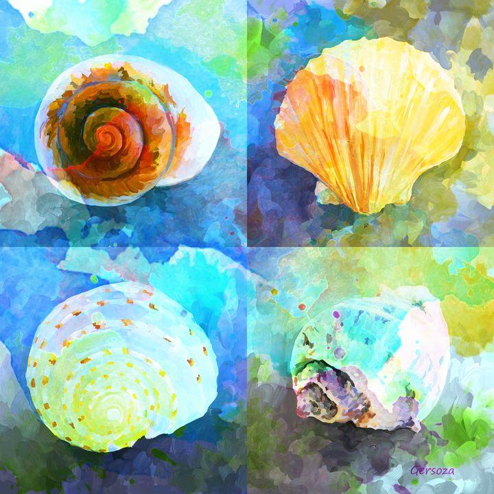 My Shells - Digital Printable Art