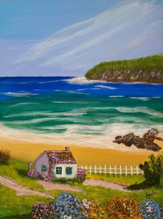 Little house by the sea - PDArtCreations