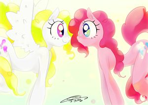 Pinkie Surprised (My little pony ser