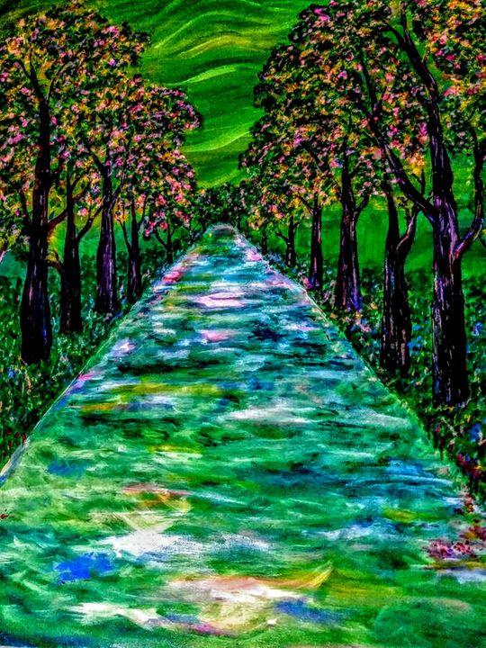 Fall walk - Morris Gallery