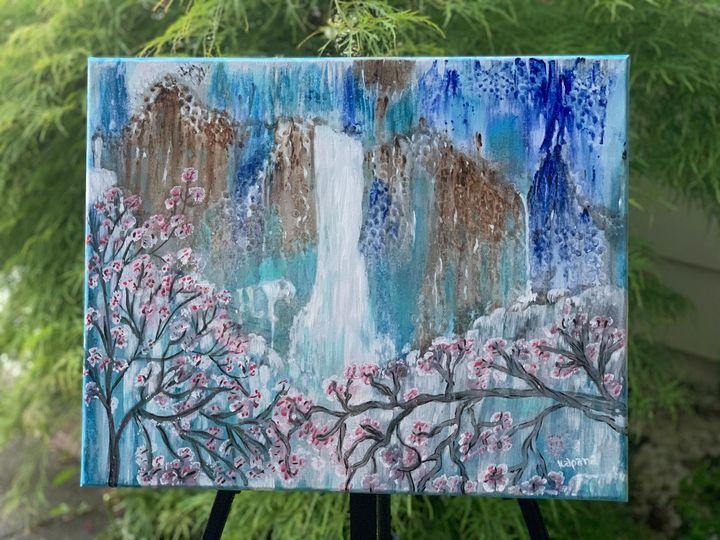 Original acrylic painting - Prosperity