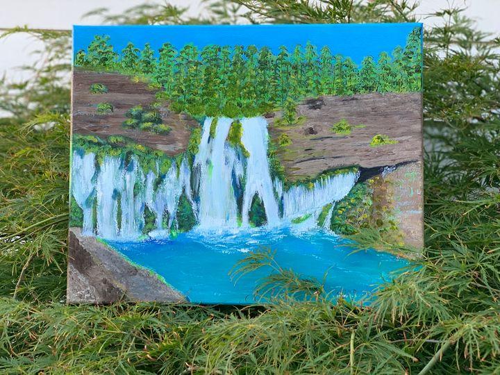 Acrylic painting - Prosperity