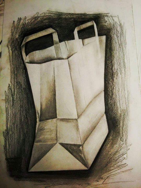 Paper bag - MalinRobertsArt
