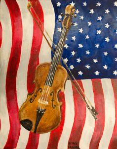 Patriotic Violin