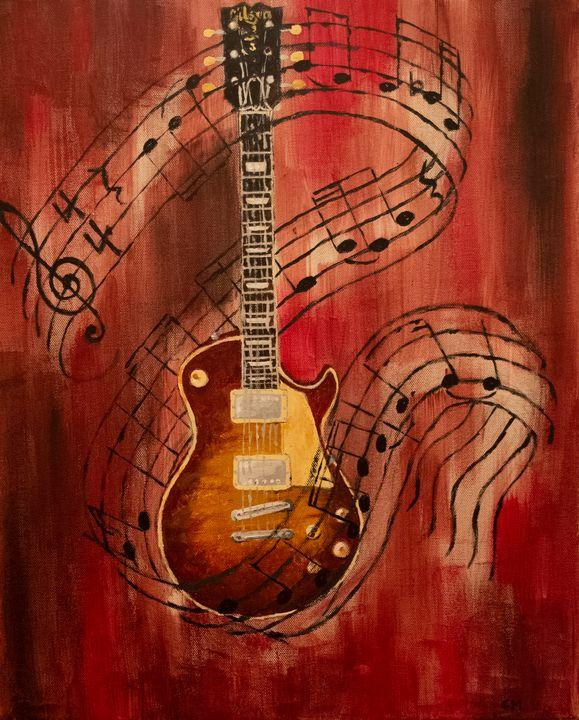 Electric guitar - Chris Manuel