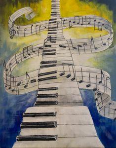 Ascending Piano