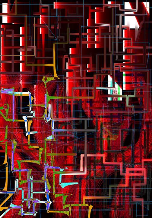 red installation - Nebojsa Strbac