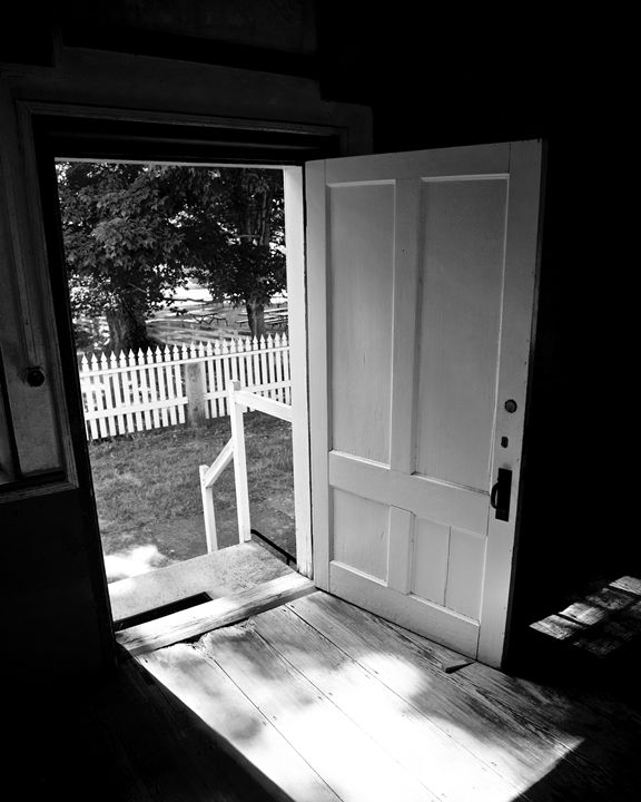 Doorway to a Different Time - Cantor Photography