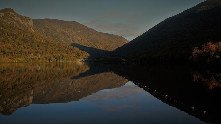 Shadows Eat the Mountain - Cantor Photography