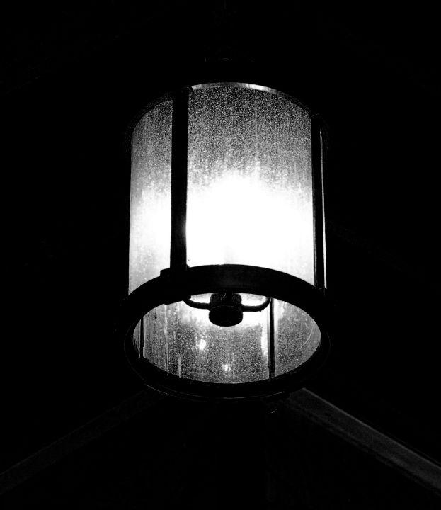 Ship Lantern at Night - Cantor Photography